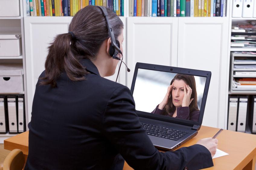 Online behandeling door een psycholoog